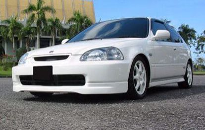 Picture of HC Racing Type R Style Front Lip Civic 96-98 2 3 4dr 96-98 ek9 style