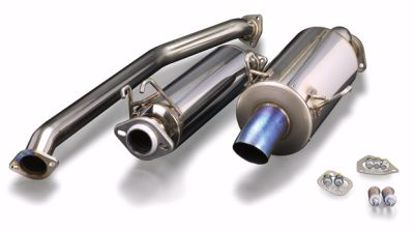 Picture of TODA Racing Exhaust System titanium straight tail Civic Type R EP3