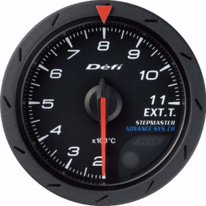 Picture of Defi Advance CR EGT Gauge Black Face 60mm