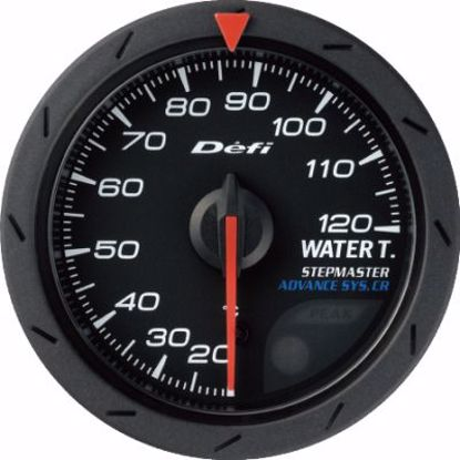 Picture of Defi Advance CR Water Temp Gauge Black Face 60mm
