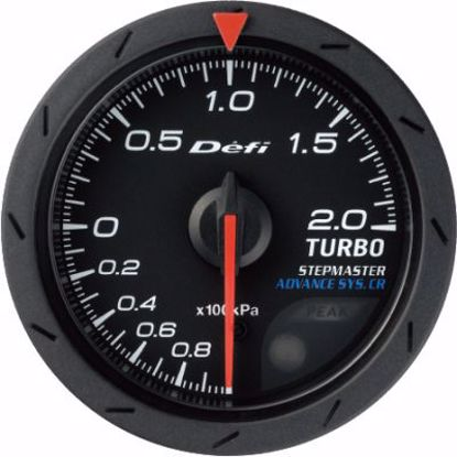 Picture of Defi Advance CR Turbo Gauge 200kPa Black Face 60mm