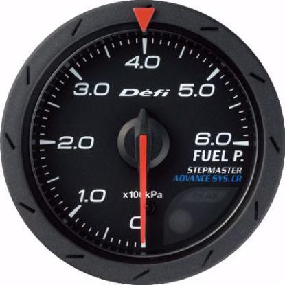 Picture of Defi Advance CR Fuel Pressure Gauge Black Face 52mm