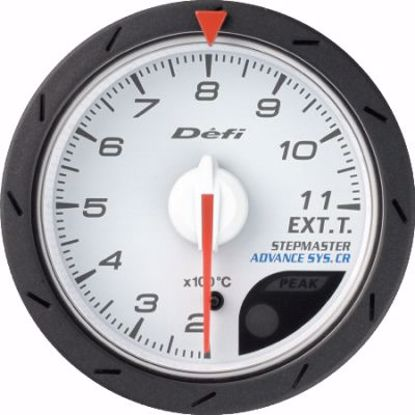 Picture of Defi Advance CR EGT Gauge White Face 52mm