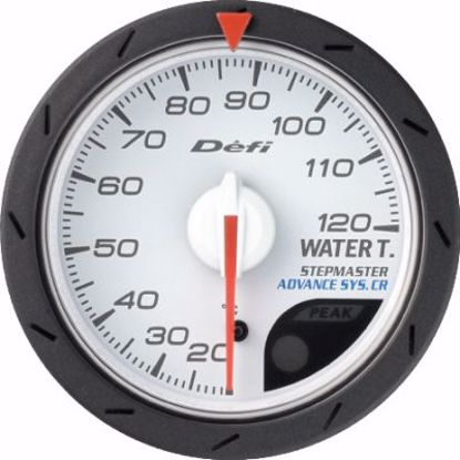 Picture of Defi Advance CR Water Temp Gauge White Face 52mm