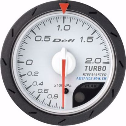 Picture of Defi Advance CR Turbo Gauge 200kPa White Face 52mm
