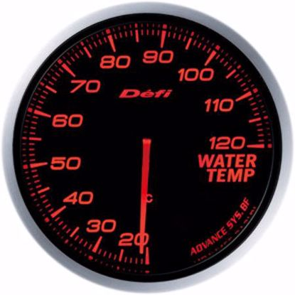 Picture of Defi Advance BF Water Temp Gauge 60mm AmberRed Illumination