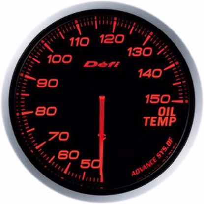Picture of Defi Advance BF Oil Temp Gauge 60mm AmberRed Illumination