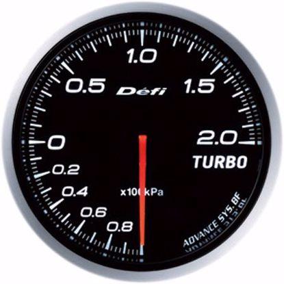 Picture of Defi Advance BF Turbo Boost Gauge 200kpa 60mm White Illumination