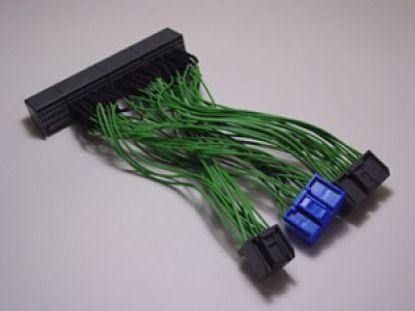 Picture of Boomslang Custom Made HondR Spec OBD2B to OBD2A Ecu Adapter Harness