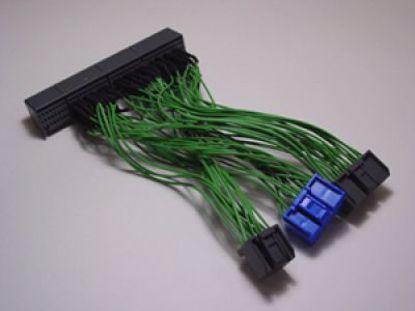 Picture of Boomslang Custom Made HondR Spec OBD2B to OBD2A Ecu Adapter Harness