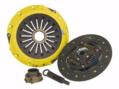 Picture of ACT Full Face Organic Clutch Kit Stage 3 B Series Cable Clutch 88 to 91 319lbsft mod street disc