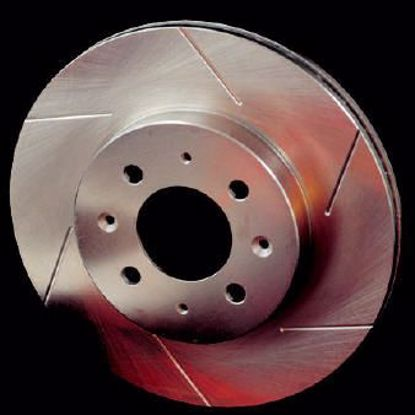 Picture of Stoptech Powerslot Grooved Performance Discs Civic Type R FN2 OE 300mm 5X114 3 FRONT
