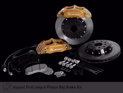 Picture of K Sport Big Brake Kit EF Civic Crx 88 91 oe 242 4x100 6 POT 286mm