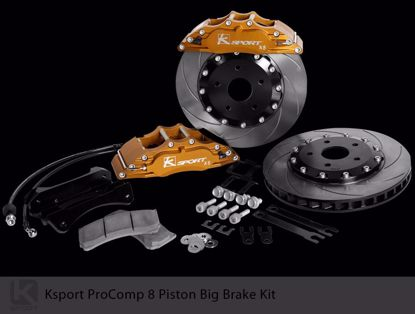 Picture of K Sport Big Brake Kit EF Civic Crx 88 91 oe 242 4x100 8 POT 330mm