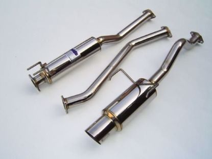 Picture of Invidia N1 Stainless Steel Exhaust System Civic 01-03 2DR EM2
