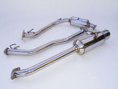Picture of Invidia N1 Stainless Steel Exhaust System Jazz/Fit 06-08
