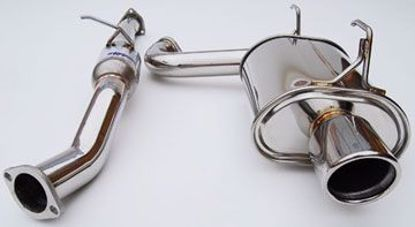 Picture of Invidia Q300 Stainless Steel Exhaust System S2000 Single Muffler