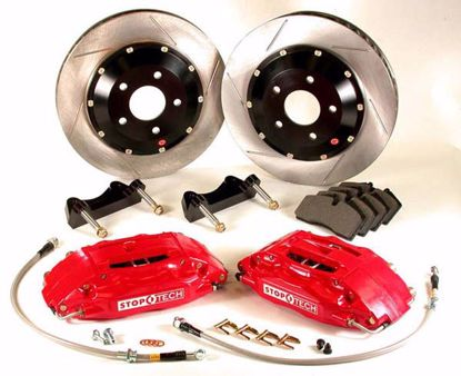 Picture of Stoptech Big Brake Kit 4 POT Accord 08 Onwards 328x28
