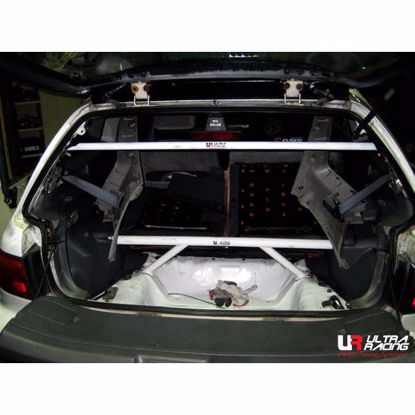 Picture of Ultra Racing Rear Upper Strut Brace Civic 92-00, DelSol 92-97, Integra 92-00 4 Point