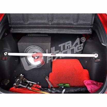 Picture of Ultra Racing Rear Upper Strut Brace Civic Type R FN2 07-10 3DR 2 Point