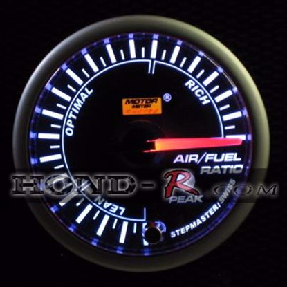 Picture of Motor Meter Racing Air/Fuel Gauge (narrowband) 52mm Amber/White