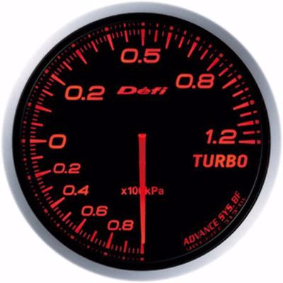 Picture of Defi Advance BF Turbo Boost Gauge 120kpa 60mm AmberRed Illumination