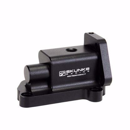 Picture of Skunk2 Billet VTEC Solenoid Black Anodized H-Series VTEC Engines All 92-00