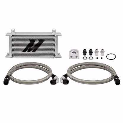 Picture of Mishimoto Universal Oil Cooler Kit Thermostatic/Non Thermostatic 19 Row