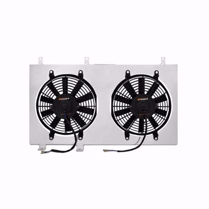 "Picture of Mishimoto Aluminium Fan Shroud Kit Integra 94-01 DC2/DB8 Twin 12"" Fans"