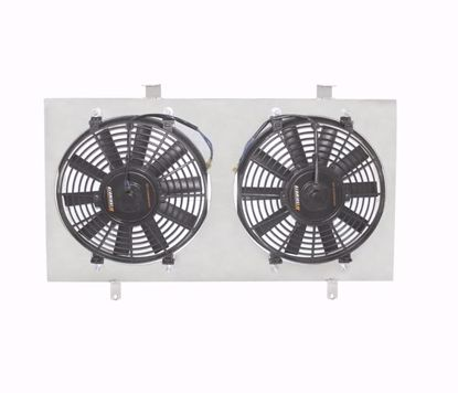 "Picture of Mishimoto Aluminium Fan Shroud Kit Prelude 97-01 / Accord 94-97 Twin 12"" Fans"