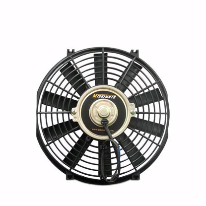 "Picture of Mishimoto Universal Slim 12"" Pusher/Puller Cooling Fan Black"
