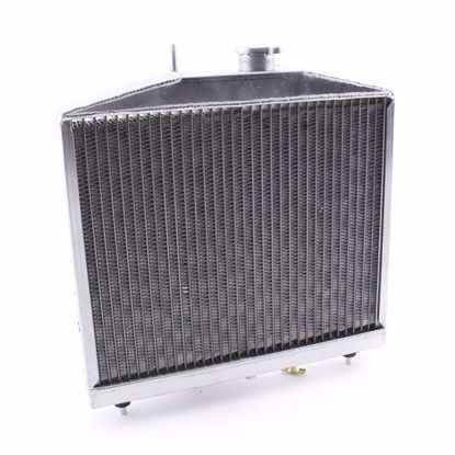 Picture of Hybrid Racing Griffin K-Swap Radiator Civic 96-00 HALF SIZE