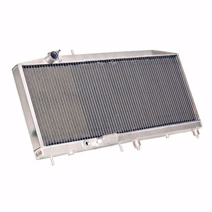 Picture of Hybrid Racing Griffin K-Swap Radiator Civic 92-95 / DelSol 92-97 FULL SIZE