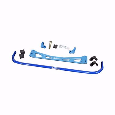 Picture of HARDRACE 25.4MM REAR ROLL BAR AND SUB FRAME BRACE 8PC SET HONDA CIVIC EK TYPE R 96-00