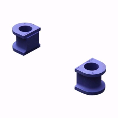Picture of HARDRACE 22MM HARDENED FRONT STABILIZER BUSHINGS 2PC SET HONDA CIVIC EK HX/EX 96-00