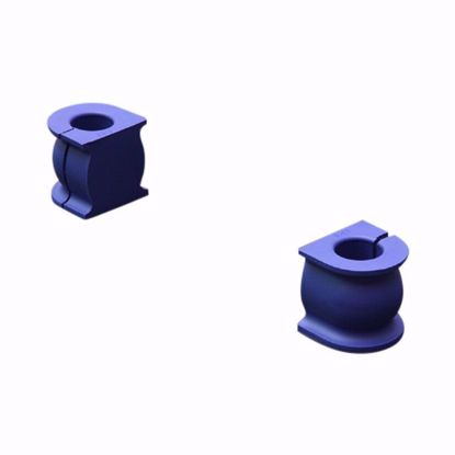 Picture of HARDRACE 22MM HARDENED RUBBER FRONT STABILIZER BUSHES 2PC SET HONDA FIT GD 01-08