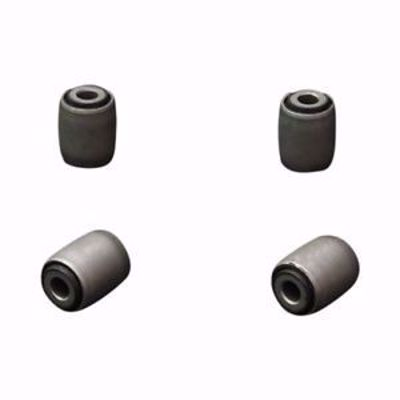 Picture of HARDRACE HARDENED RUBBER FRONT LOWER ARM BUSHES 4PC SET HONDA CIVIC EF 88-91