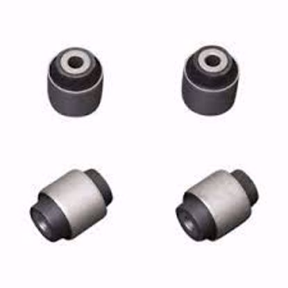 Picture of HARDRACE HARDENED RUBBER FRONT UPPER ARM BUSHES 4PC SET HONDA ACCORD 98 JDM/ EURO CL1