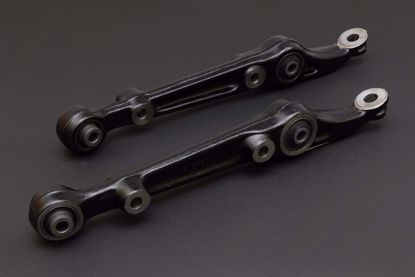Picture of HARDRACE FRONT LOWER CONTROL ARM WITH HARDENED RUBBER BUSHES 2PC SET HONDA CIVIC EG 92-96