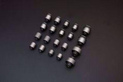 Picture of HARDRACE FULL HARDENED RUBBER BUSH KIT HONDA S2000 AP2 04-09